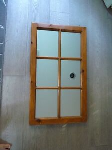 Pine Window Mirrors