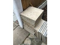 30 used concrete slabs free gone