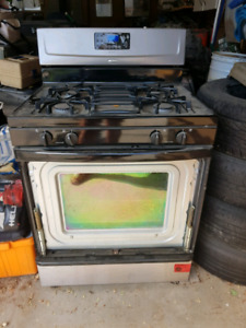 FREE GAS STOVE - NO HOLDS