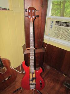 Vintage Lado made in Canada bass, neck through Fender killer
