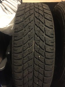 4 used 215/60R16 Goodyan assurance A/S 95 T