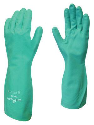 Showa-best 730 Mfg Chemical Resistant Cleaning Gloves 1 Dozen Sizes Xs-xxl