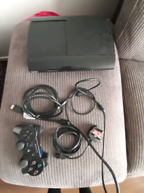 Ps3 super slim console complete with game