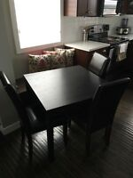 IKEA table with or with out 4 chairs