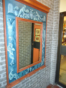 MIRRORS: MAHOGANY FRAME & PIER PAINTED FRAME West Island Greater Montréal image 5
