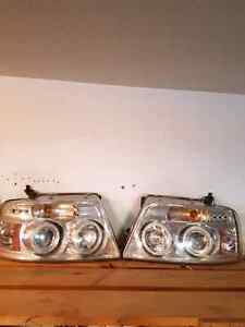 Projector headlights for 04-08 F150 150 obo