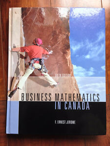Business Mathematics in Canada by Jerome (with CD, 2005)