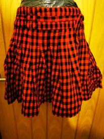 Wrap over vintage skirt size 10