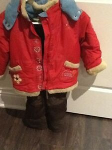 girls assorted winter jackets and snowsuits size 4/5, 5, 5/6