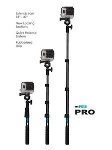 The Pole Pro for GoPro, Drift Innovation, Contour, Selfie Strathcona County Edmonton Area image 1