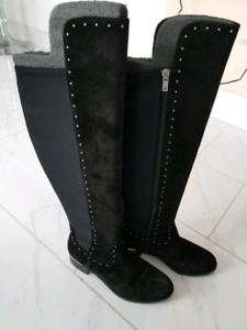 Calvin Klein over the knee boot size 7