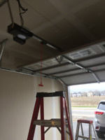 Garage door and opener services
