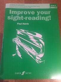Grade 2 Piano Improve your Sight-Reading by Paul Harris