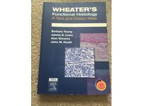 HISTOLOGY TEXTBOOK UP FOR GRABS- Wheater's histology