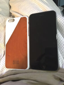 Black iPhone 6 16gb ** BRAND New Battery**