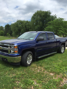 BEAUTIFUL BLUE TOPAZ 2014 CHEVY SILVERADO