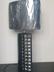 Black Elegant Ceramic Table Lamp with shade..Special Offer ...
