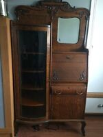 19th century Antique secretary