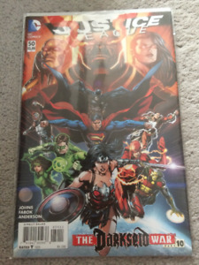 New 52 Justice League 50 Signed