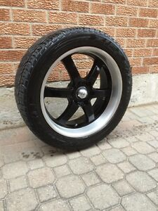 """20"""" BOSS 330 wheels/rims with tires"""
