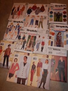 Women's Size 18-24 Clothing Patterns
