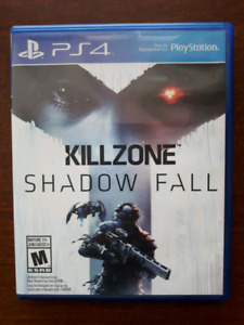 Jeux PS4 Killzone Shadow Fall Playstation game