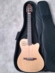 Godin multiac nylon string guitar.