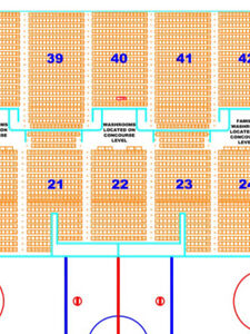 MOOSEHEADS HOCKEY - 1 (ADULT) SEAT