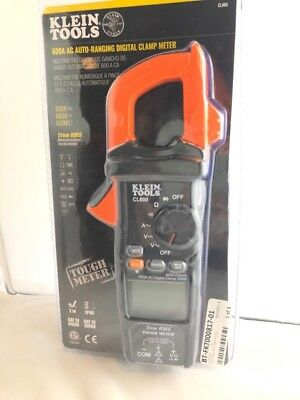 Klein Tools Cl600 600a Ac Auto-ranging Digital Clamp Meter Fkt001999