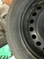 205 55 R16 Winter tires and Rims  - used 2 months