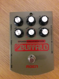 Moen Buffalo Overdrive/EQ/Speaker Sim/Pocket Amp Pedal