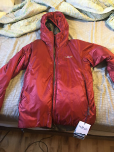 New RAB Xenon X Hoodie Men's Small - Red