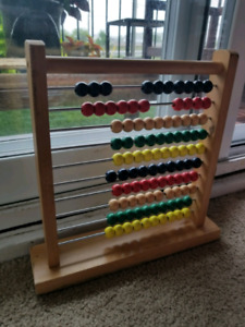 Melissa and Doug Multicolour Wooden Abacus