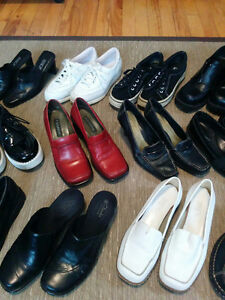 12 pairs of Quality Ladies Shoes,  Size 6 - 7