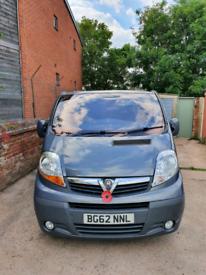 Vauxhall Vivaro 6 seater LWB 2012 Van