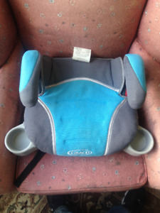 Graco TurboBooster backless car-seat