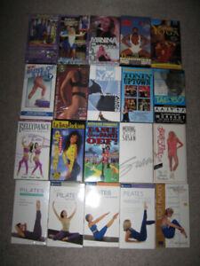 20 Fitness vhs tapes for $5