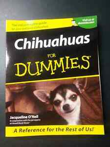 Chihuahuas for Dummies book $16 +tax @ Chapters