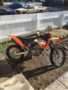 Trade my ktm  for 06 and up yz 250 2 smoker