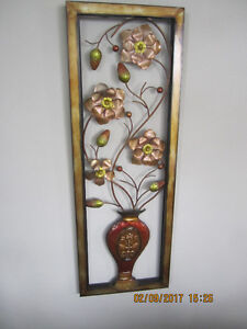 Sunny Days Ahead! Golden Copper Decorative Metal Wall hanging.