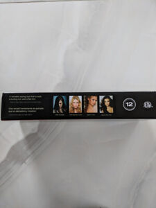 Ceramic straightener and curler all in one it