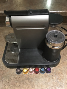 Nespresso Coffee Maker and Frother