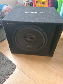 Orion 12 inch sub and amp