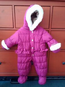 winter jacket 3-6months baby girl