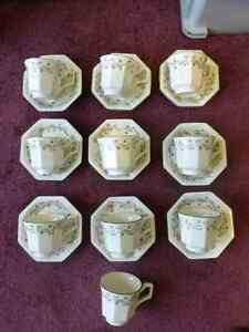 Eternal Beau Footed Cups or Footed Cups with Saucer Kitchener / Waterloo Kitchener Area image 1