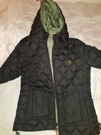 Timberland jacket (two faces) size 10-12