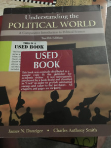 Textbook ( Understing the Political World )