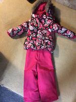 3T Girls Winter Coat and Snow Pants (snowsuit)