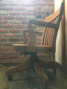chaise bureau antique, L'islet vintage