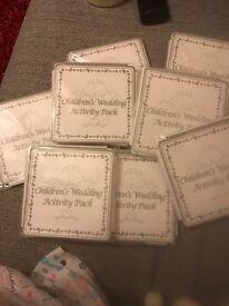 Children's pack for weddings